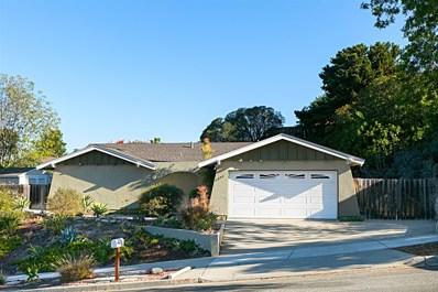 4006 Vista Calaveras St, Oceanside, CA 92056 - MLS#: 180063257