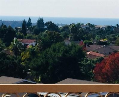 6611 Santa Isabel Street UNIT 105, Carlsbad, CA 92009 - MLS#: 180063275