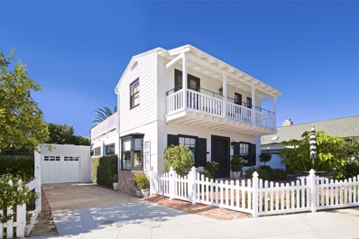 1320 Park Row, La Jolla, CA 92037 - MLS#: 180063413