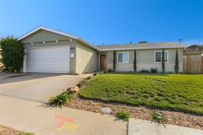 8033 Gribble St, San Diego, CA 92114 - MLS#: 180063778