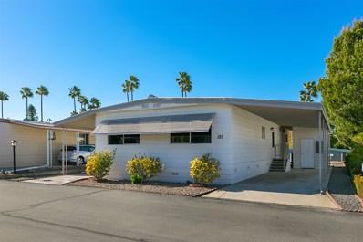 1219 E Barham Drive UNIT 121, San Marcos, CA 92078 - MLS#: 180064286