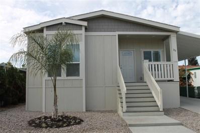 200 N El Camino Real UNIT 313, Oceanside, CA 92058 - MLS#: 180064610