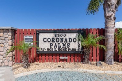 2200 Coronado Avenue UNIT 25, San Diego, CA 92154 - MLS#: 180064810