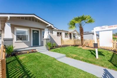 3708 47th St, San Diego, CA 92105 - MLS#: 180065182