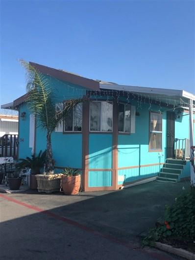 1381 Palm Ave UNIT 54, San Diego, CA 92154 - MLS#: 180065637