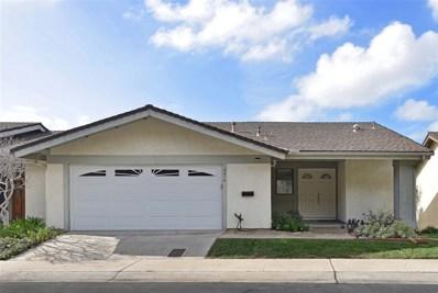 4474 Caminito Pedernal, San Diego, CA 92117 - MLS#: 180066432