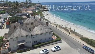 203 Rosemont, La Jolla, CA 92037 - MLS#: 180066586