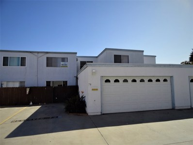 1640 Maple Dr UNIT 78, Chula Vista, CA 91911 - MLS#: 180066679