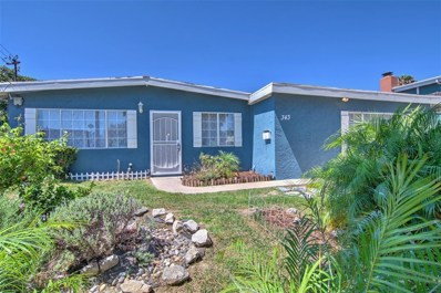 343 Inkopah St, Chula Vista, CA 91911 - MLS#: 180066798