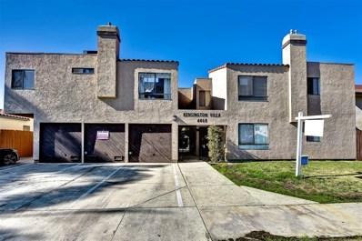 4468 Marlborough Ave UNIT 6, San Diego, CA 92116 - MLS#: 180067300