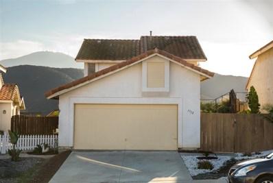 1712 Wingfoot Pl, El Cajon, CA 92019 - MLS#: 180067411