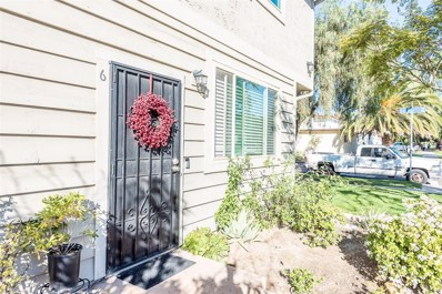 255 G St UNIT 6, Chula Vista, CA 91910 - MLS#: 180067655