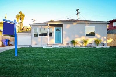 541 Los Angeles Pl, San Diego, CA 92114 - MLS#: 180068004