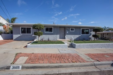 3569 Tomahawk Ln, San Diego, CA 92117 - MLS#: 180068632