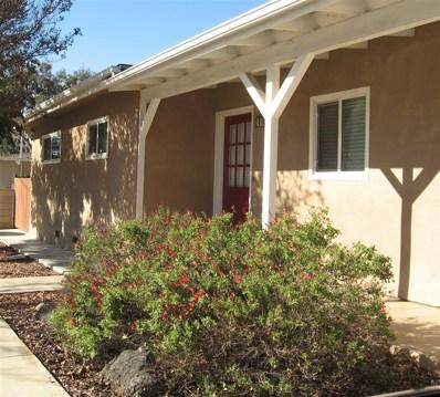 2150 Mountain View Dr, Escondido, CA 92027 - MLS#: 180068785