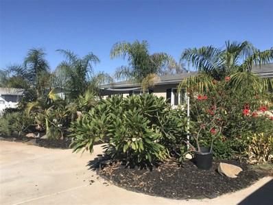 1546 Monte Mar Rd, Vista, CA 92084 - MLS#: 190000140