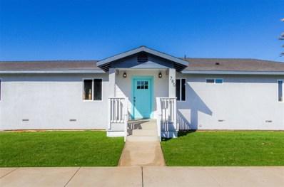 780 Cherry Ave., Imperial Beach, CA 91932 - MLS#: 190000322