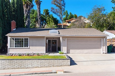 1456 Whitestone Road, Spring Valley, CA 91977 - MLS#: 190000840