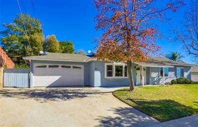1501 Meadow Road, El Cajon, CA 92021 - MLS#: 190001167