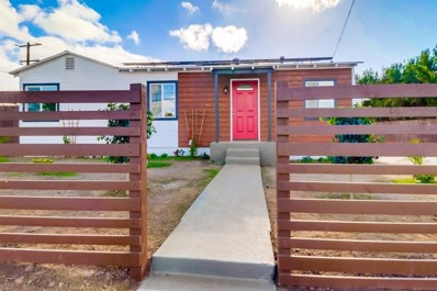 5285 Groveland Drive, San Diego, CA 92114 - MLS#: 190001497