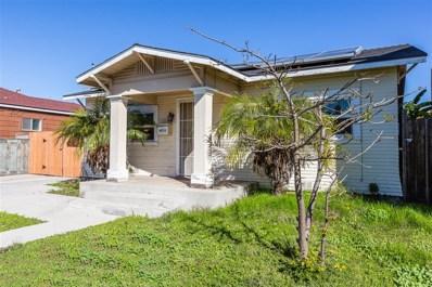 4806 Castle Avenue, San Diego, CA 92105 - MLS#: 190001595