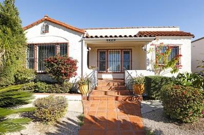 3567 Villa Terrace, San Diego, CA 92104 - #: 190001596