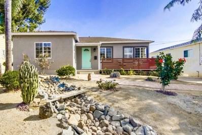 2443 Montclair, San Diego, CA 92104 - MLS#: 190001799