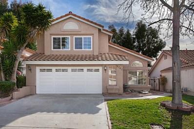 8747 Park Run Road, San Diego, CA 92129 - MLS#: 190001921