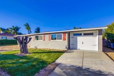 1248 El Rey Ave, El Cajon, CA 92021 - #: 190001980