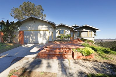 1004 W Montecito Way, San Diego, CA 92103 - MLS#: 190002225