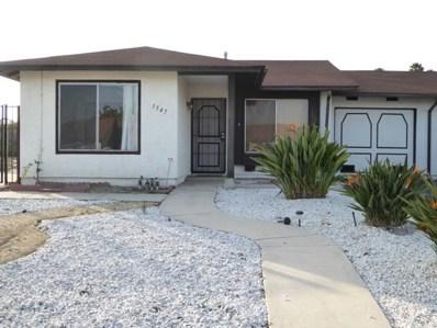 1547 Rolling Hills Dr, Oceanside, CA 92056 - MLS#: 190002710