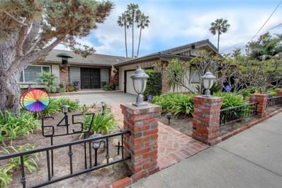 6457 Rancho Park, San Diego, CA 92120 - MLS#: 190002856