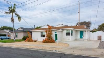 4974 VanDever Ave, San Diego, CA 92120 - #: 190002920