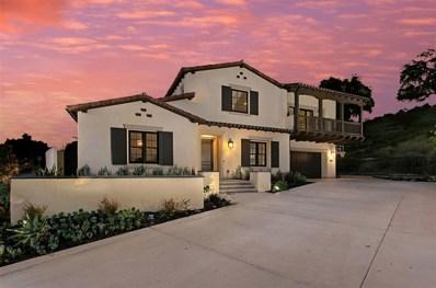 7922 Silvery Moon Lane, Rancho Santa Fe, CA 92067 - MLS#: 190002981