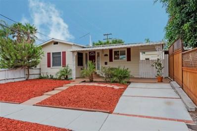 3207 Collier, San Diego, CA 92116 - MLS#: 190003209