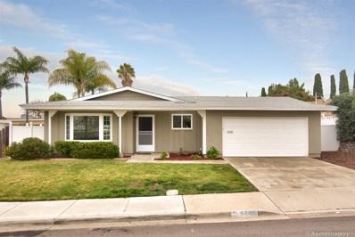 5632 Chateau Drive, San Diego, CA 92117 - MLS#: 190003340