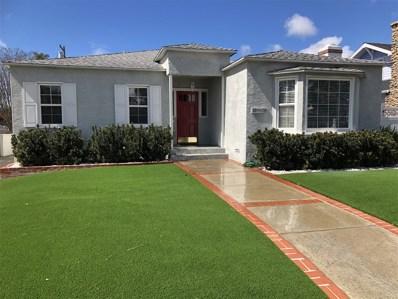 4842 Marlborough Drive, San Diego, CA 92116 - #: 190003496