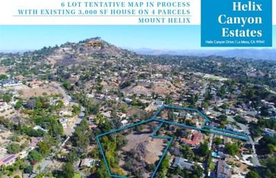 4343 Helix Canyon, La Mesa, CA 91941 - MLS#: 190003781