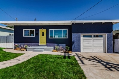 1087 Connecticut Street, Imperial Beach, CA 91932 - MLS#: 190003993