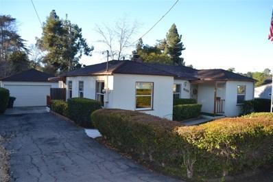 9033 Madison Ave, La Mesa, CA 91941 - MLS#: 190004304