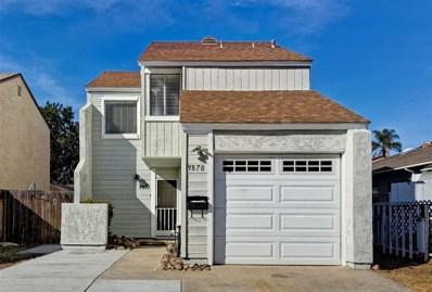 9870 Paseo Montalban, San Diego, CA 92129 - MLS#: 190004603