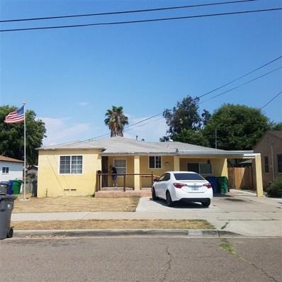 627 Jefferson Avenue, El Cajon, CA 92020 - MLS#: 190008338