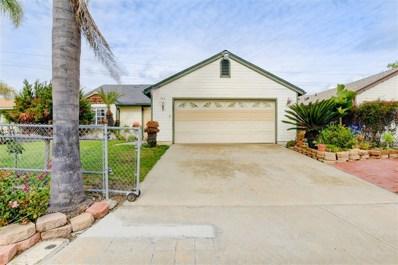 765 Arthur Ave, Oceanside, CA 92057 - MLS#: 190009054