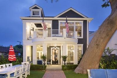 1220 Churchill Place, Coronado, CA 92118 - MLS#: 190009234
