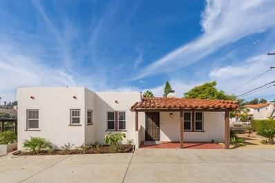 9119 Fletcher Dr, La Mesa, CA 91941 - MLS#: 190010572