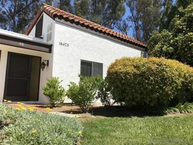 16475 Caminito Vecinos 90, San Diego, CA 92128 - #: 190012044