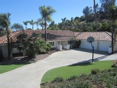 3309 Via Loma, Fallbrook, CA 92028 - MLS#: 190012734