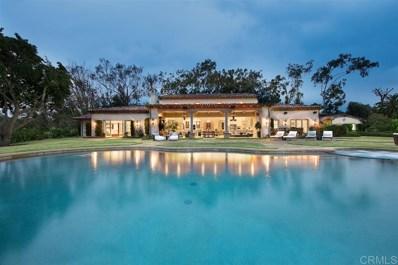 16692 La Gracia, Rancho Santa Fe, CA 92067 - MLS#: 190013098