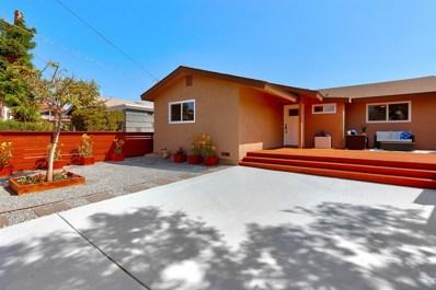 2621 Haller St, San Diego, CA 92104 - MLS#: 190013693