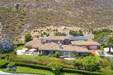 17644 Las Repolas, Rancho Santa Fe, CA 92067 - MLS#: 190014489